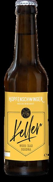 Hopfenschwinger-Flasche-Keller-Freistell