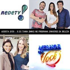 taniaEmiko na Rede TV.11