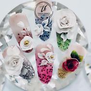 #bytaniaemiko ._💁🏻♀️✨ Nail Art 3D for