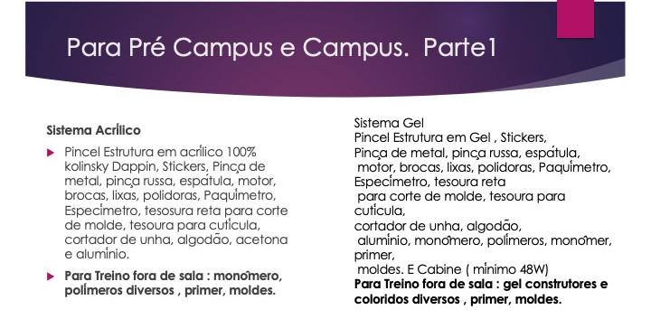 Pre campus e campus