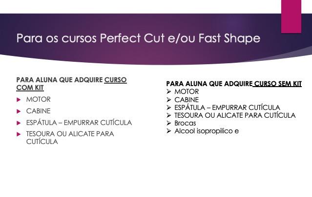 curso perfect e fast shape