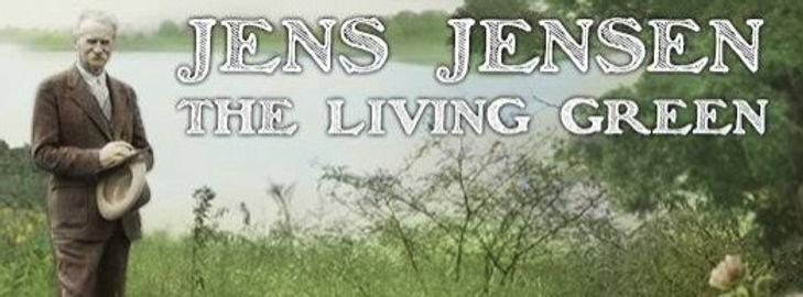 Screen grab of Jens Jensen from documentary