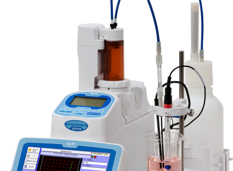 Introduction of application notes by Automatic potentiometric titrator