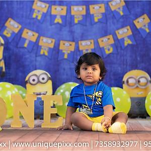 Babies/Kids Birthday Studio Shoot