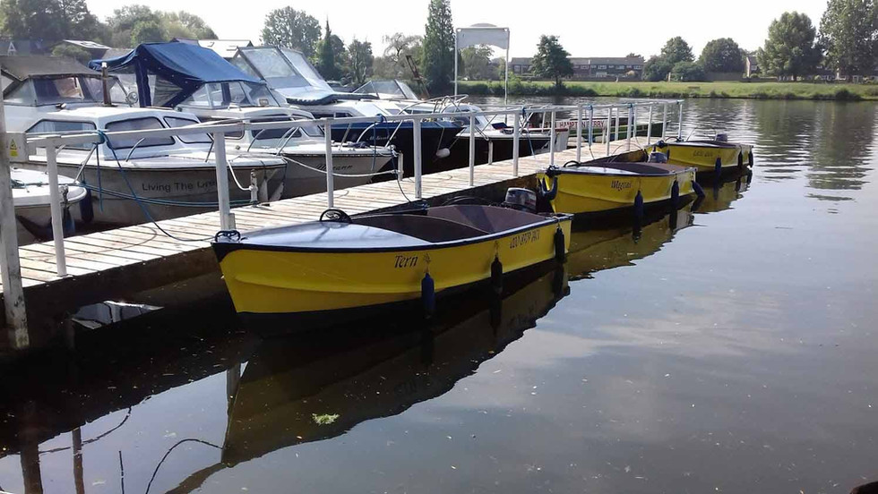 Yellow Boats by the Hour