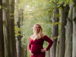 zwangerschap shoot in Aartselaar