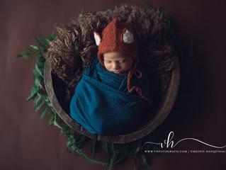 Newborn fotografie Duffel