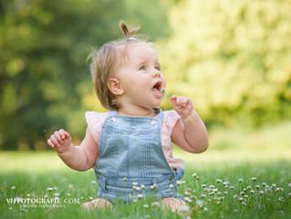Baby fotografie outdoor Duffel