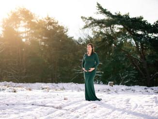 Zwangerschap in de sneeuw Kessel