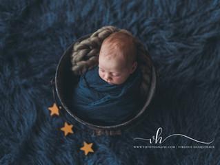 Newborn fotoshoot Niel