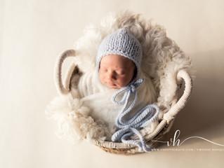Newborn fotografie in Duffel