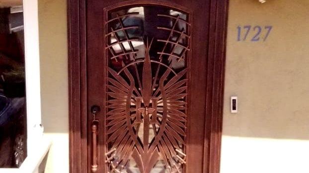 Single Iron Doors San Diego