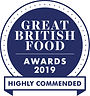 Highly Commended Great British Food Awar