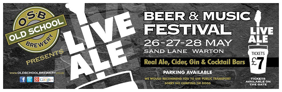 OSB Live Ale Banner