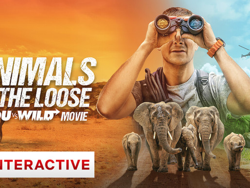Animals on the Loose: A You vs. Wild Movie Netflix Film Review