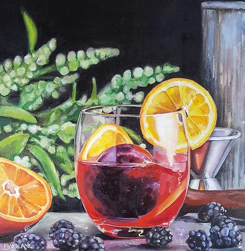 Blackberry Tangerine Vodka Tonic