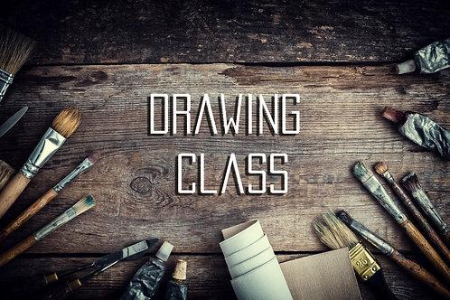 Virtual | Drawing Class | Quarter Session