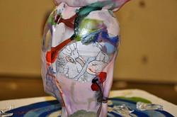 Glass Self Portait