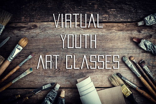 Virtual Youth Art Classes | Summer Session