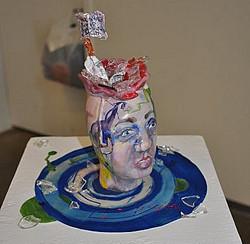 Glass Self Portrait