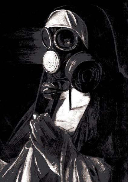 Gas Mask Nun