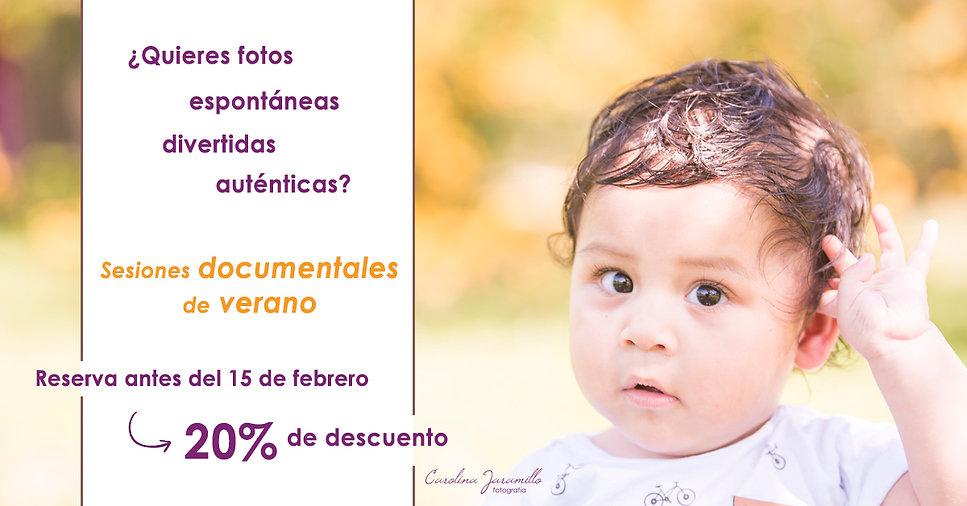 Promoción verano fotografía documental de familias Buenos Aires