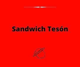 Sandwich Tesón