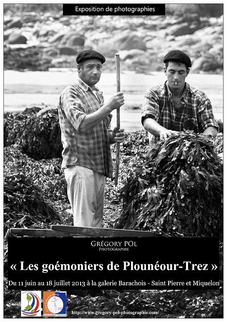 """Les """"Goémoniers bretons"""" exposés à Saint-Pierre et Miquelon !"""