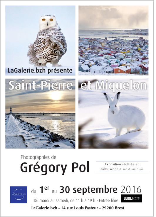 """""""Saint-Pierre et Miquelon"""" s'expose à LaGaleriebzh de Brest"""
