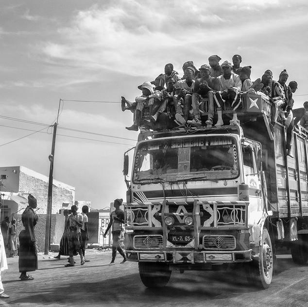 En route vers la Gambie