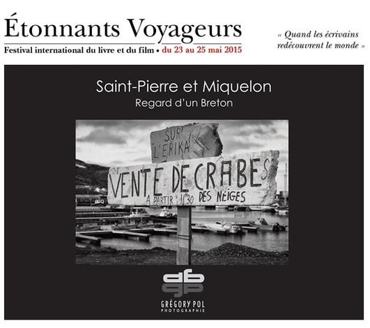 """""""Saint-Pierre et Miquelon, Regard d'un Breton"""" au festival international du livre Éton"""