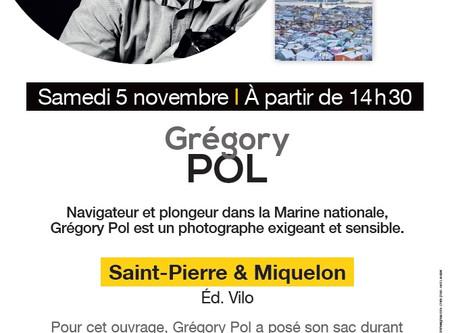 """Grégory POL, le photographe voyageur  en dédicaces à la Librairie """"Dialogues"""" de BREST"""