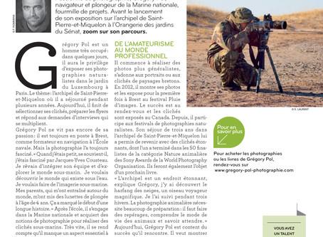 """Une belle présentation dans la revue """"Ensemble"""" du GMPA."""