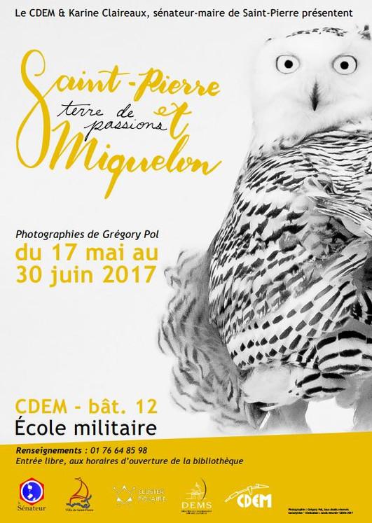 Mme Karine Claireaux et le CDEM présentent Grégory POL et Saint-Pierre et Miquelon à l'École Militai