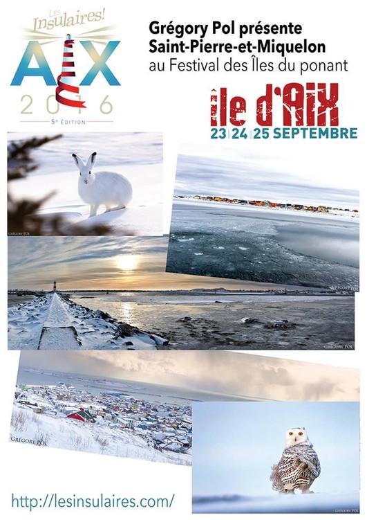 """L'exposition photos """"Saint-Pierre et Miquelon"""" de Grégory POL présentée au Festival de"""