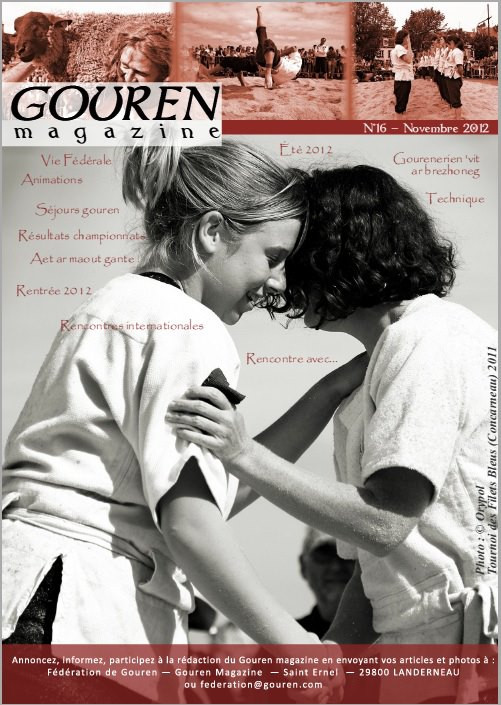 Couverture du Gouren Magazine - Interview