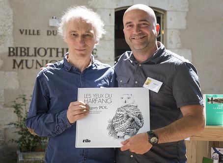 """Grégory POL et Alexis Gloaguen remportent le prix """"Chapitre Nature"""" 2017."""