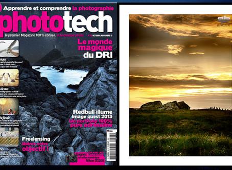 """Merci au magazine """"Phototech"""" pour la publication d'une de mes images sur le thème du"""