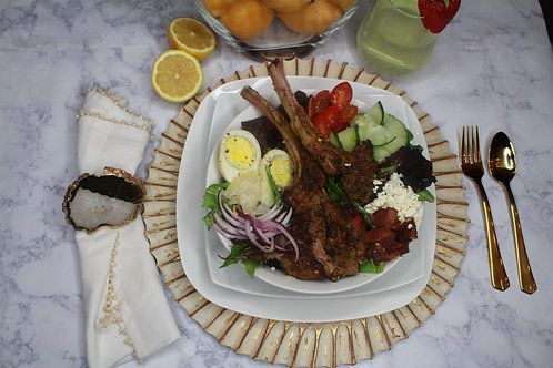 The Memphis (Lamb Chop Salad)