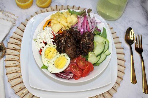 The NY (Jerk chicken salad)