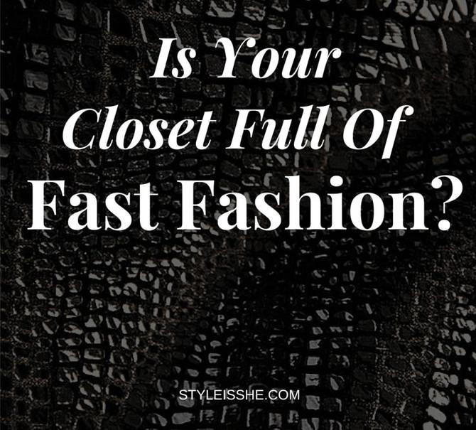 Fast Fashion or Nah???