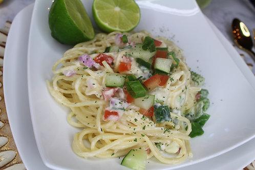 The Savage (Veggie Pasta Salad)