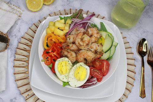 The N.O. (Grilled Shrimp Salad)