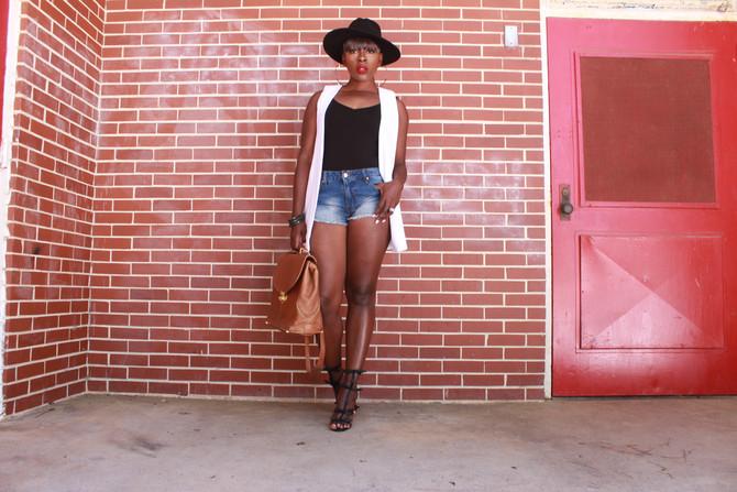 Short Shorts and Long Blazers