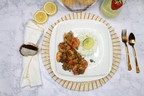 The Oh (Jamaican Curry Shrimp)