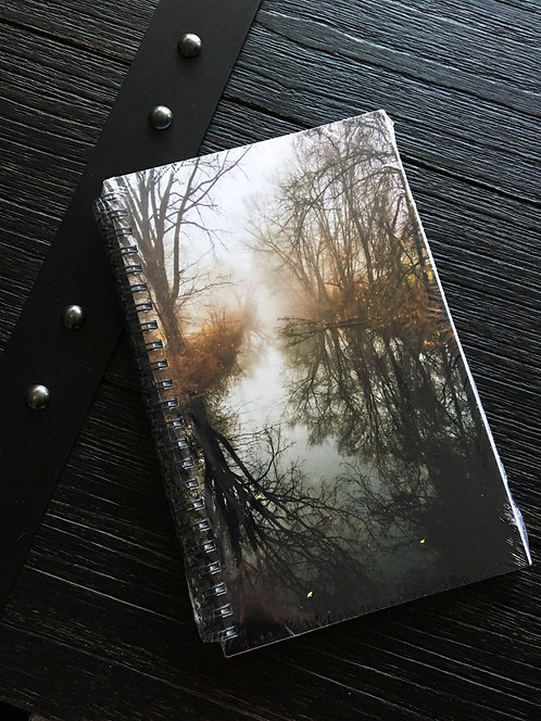 Foggy Canal Notebook