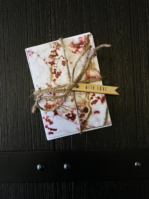 Sepia Winter Cards
