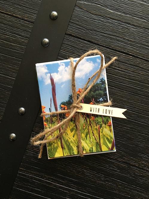 Vertical Flower Cards