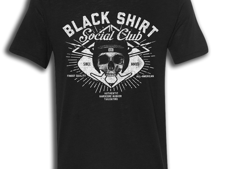 2017 BLACK SHIRT SOCIAL CLUB DROP