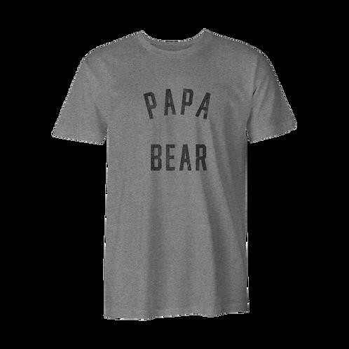 'MAMA/PAPA BEAR' | TRI-BLEND TEE